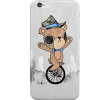 Unicycle Bear iPhone Case/Skin