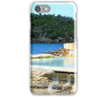 Ocean pool at Manly, Sydney. iPhone Case/Skin