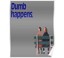 Dumb and Dumber / Forrest Gump Poster
