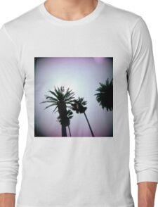 Holga Palms Long Sleeve T-Shirt