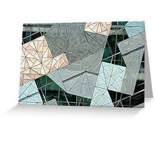 Fractal Facade Greeting Card