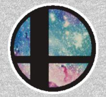 Galactic Smash Bros. Final destination Kids Tee