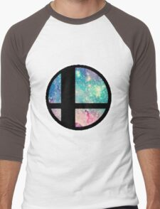 Galactic Smash Bros. Final destination Men's Baseball ¾ T-Shirt