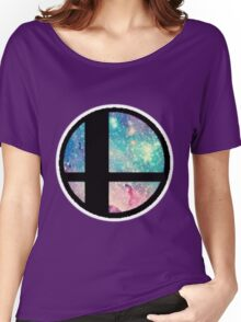 Galactic Smash Bros. Final destination Women's Relaxed Fit T-Shirt