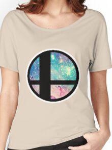 Galactic Smash Bros. Final destination Women's Relaxed Fit T-Shirt