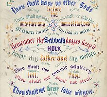 The Ten Commandments by Vintage Works
