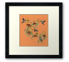 Phono & Fauna Framed Print