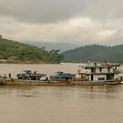 Chindwin Transport by Werner Padarin