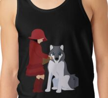 Little Red Riding Hood to make friends Tank Top