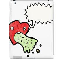 love sick heart cartoon iPad Case/Skin
