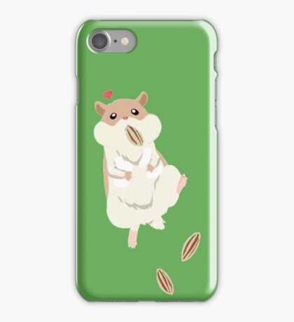 hamster luv3 iPhone Case/Skin