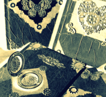 Steampunk Journals 1.0 Sticker
