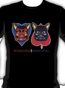 Roadside Memorial Oni Masks Tee T-Shirt