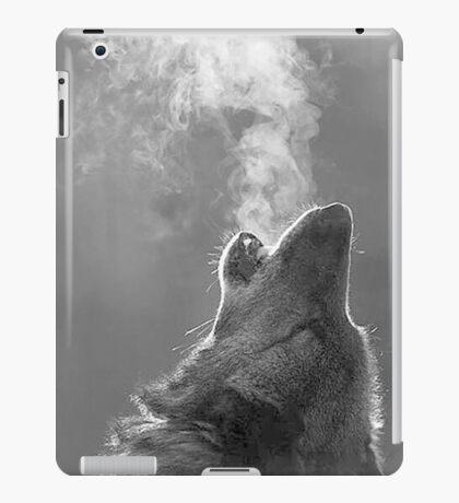 fierce wolf iPad Case/Skin