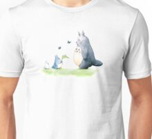 Totoro with Butterflies  Unisex T-Shirt