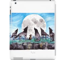 A Cat Raised by Wolves - by Mary Doodles iPad Case/Skin