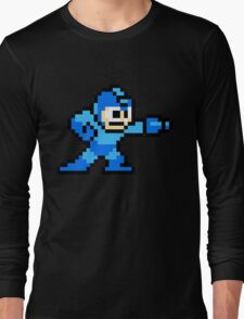 Mega Man game shirt Long Sleeve T-Shirt