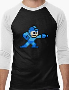 Mega Man game shirt Men's Baseball ¾ T-Shirt