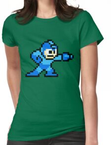 Mega Man game shirt Womens Fitted T-Shirt