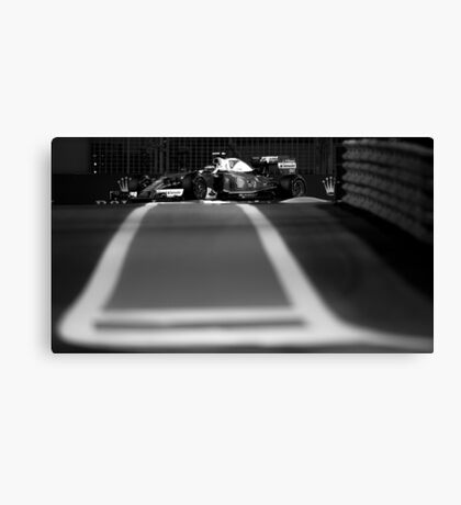 Formula 1 racing cars 2016 Canvas Print