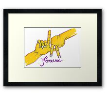 Lakers Forever Framed Print