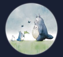 Totoro with butterflies #2 Kids Clothes