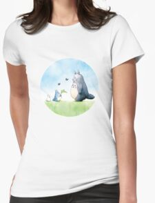 Totoro with butterflies #2 T-Shirt