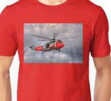 Royal Navy Search and Rescue Sea King Helicopter Unisex T-Shirt