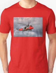 Royal Navy Search and Rescue Sea King Helicopter T-Shirt