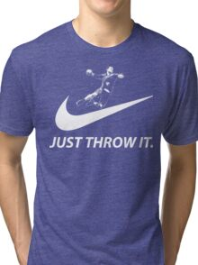 Handball Just Throw It  Tri-blend T-Shirt