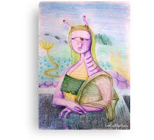 Reneissance in an underwater civillization far far away Canvas Print