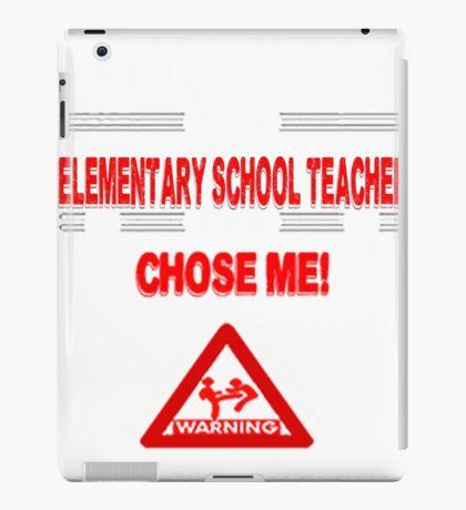 Elementary School Teacher Life iPad Case/Skin