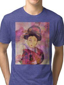 Willow World - By John Robert Beck Tri-blend T-Shirt