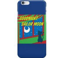 Goodnight Sailor Moon iPhone Case/Skin