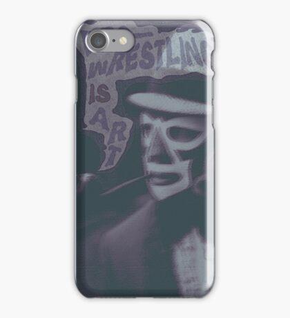 Pro-Wrestling is Art  iPhone Case/Skin