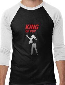 Michael Jackson - King Of Pop Shirt Men's Baseball ¾ T-Shirt