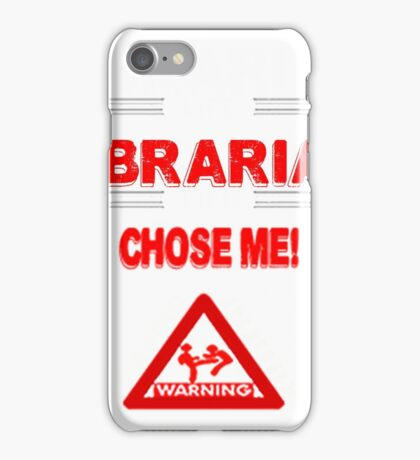 Librarian Life iPhone Case/Skin
