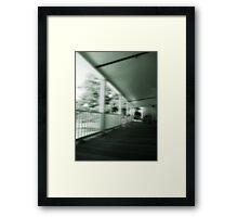 plantation visitation  Framed Print