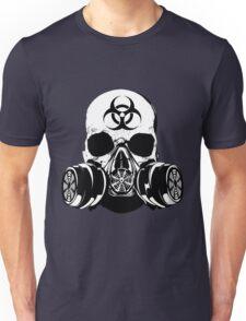 Biohazard Zombie Skull Unisex T-Shirt