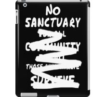 No sanctuary iPad Case/Skin