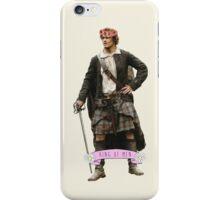 Jamie Fraser Flower Crown iPhone Case/Skin
