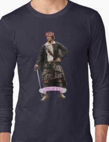 Jamie Fraser Flower Crown Long Sleeve T-Shirt