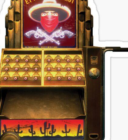 BioShock – El Ammo Bandito Vending Machine Sticker