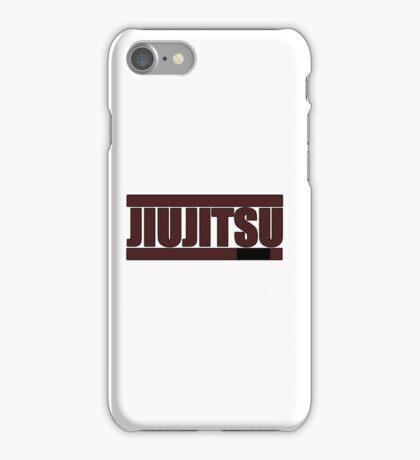 BJJ Brown Belt iPhone Case/Skin