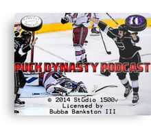 Puck Dynasty Podcast  - Load Screen Metal Print