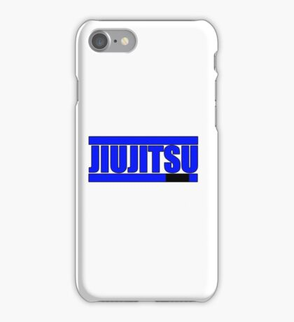 BJJ Blue Belt iPhone Case/Skin