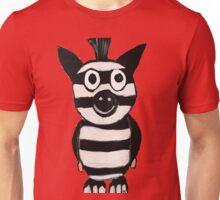 pig in a zebra costume  Unisex T-Shirt
