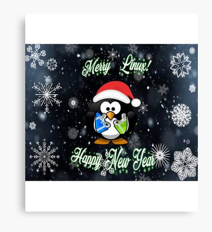 Merry Linux Canvas Print
