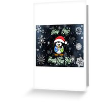 Merry Linux Greeting Card