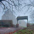 Minster Abbey Fog Bound by Dave Godden